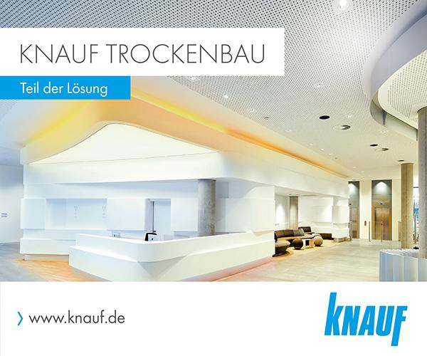 Zur Webseite von Knauf Trockenbau