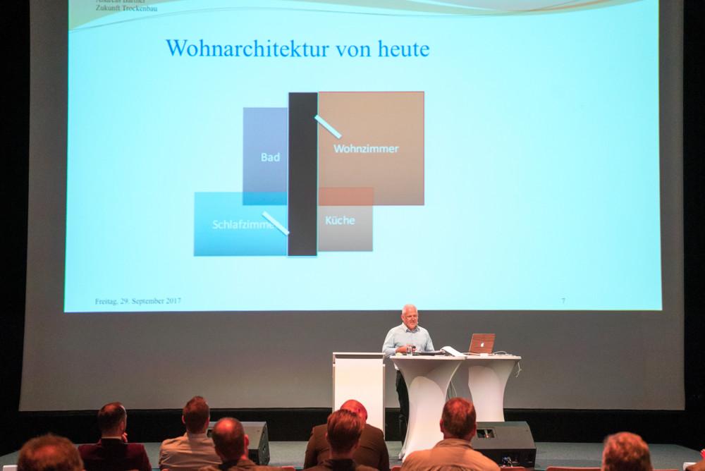 Dtl., Berlin, Kino Kosmos, Zukunft Trockenbau und Ausbau, BIG, 29.9.2017