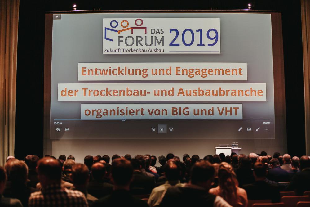 Das Forum 2019 - Start einer zweitägigen Veranstaltung
